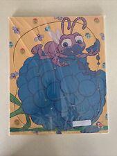"Vtg Mattel Disney Pixar ""It's A Bugs Life"" Wood Frame-Tray Puzzle Toddler"