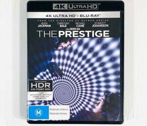 The Prestige • 4K Ultra HD Blu Ray Movie Film •3-disc set LIKE NEW Hugh Jackman