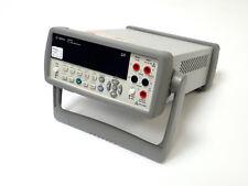 Agilent 34410a High Performance Digital Multimeter 65 Dig Crisp Display Tested