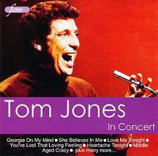 Tom Jones - Tom Jones In Concert    **NEW CD**