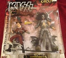 Kiss Psycho Circus 1998 McFarlane Toys Gene Simmons + The Ring Master figures