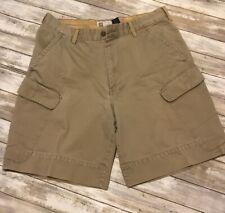 Gap Mens Size 36 W Khaki Cargo Shorts .
