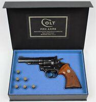 PISTOL GUN PRESENTATION CUSTOM DISPLAY CASE BOX for COLT TROOPER Mk III 4'' .357