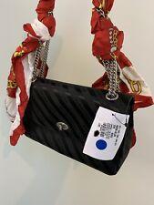Balenciaga Jacquard Logo Foulard Noir Black Rouge Red Handbag 493235 9GJ3NBag