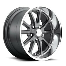 20x9.5 US MAG U111 5x4.75 ET01 Matte GunMetal Wheels (Set of 4)