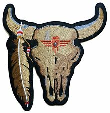 Patch écusson grand patche dorsal dos grande taille buffalo Buffle brodé