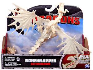BONEKNAPPER GLOW IN THE DARK DRAGON DREAMWORKS DRAGONS HOW TO TRAIN YOUR DRAGON
