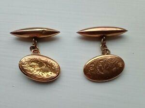 9ct Gold Vintage Cufflinks