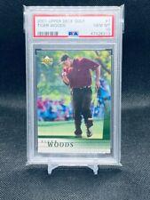New listing 2001 Upper Deck Golf Tiger Woods Rookie RC Card #1 - PSA 10 GEM MINT SP