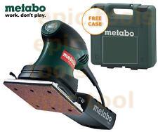 """METABO 240v FSR200 1/4"""" Sheet Palm/Hand Sander + Storage Case + Pad, Punch Plate"""