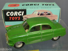 "VINTAGE CORGI TOYS MODEL No.200M FORD CONSUL "" MECHANICAL"" GREEN VERSION"