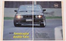 Test Drive Prova 1993 BMW M5 SERIE 5 E34