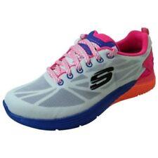 Scarpe da ginnastica bianchi marca Skechers per donna memory foam