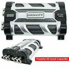 Gravity Gr-50Px Car Audio Battery Stiffening Portable Power 50.0 Farad Capacitor
