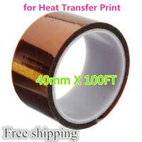 40mm X 30m 3D Sublimation Kapton Tape Heat Resistance Proof Tape-HOT SALE!