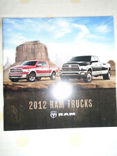 Dodge RAM Trucks range brochure 2012 USA market small format