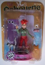 KELLY OSBOURNE ACTION FIGURE. THE OSBOURNE FAMILY. NOC W/ ACCESSORIES. NEEDS BAT