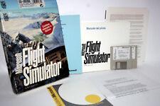 MICROSOFT FLIGHT SIMULATOR 1993 PRIMA STAMPA ITALIANA USATO PC MSDOS FR1 57269
