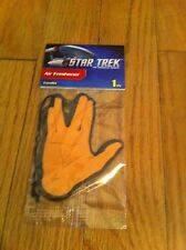 Vulcan Greeting Live Long And Prosper Star Trek Vanilla Air Freshener 2015 New