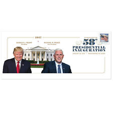 US Presidential Inaugural Cachet Trump & Pence FDC 2017