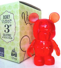 """DISNEY VINYLMATION 3"""" CLEAR SERIES CANDY APPLE RED COLLECTIBLE NEW TOY FIGURE"""