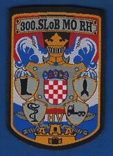 Croatian army (HV), LOGISTIC SECTOR, 300th (CENTRAL) LOGISTIC BASE 1996. PATCH !