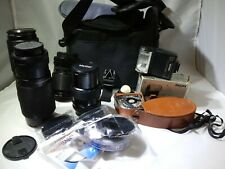 Camera Lens And Accessories Lot