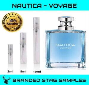 NAUTICA Voyage - Eau De Toilette - Men's Travel Sample 2ml / 5ml / 10ml Sizes