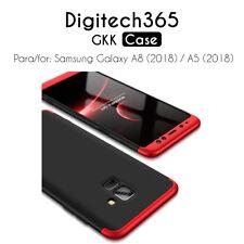 Funda carcasa GKK 3 en 1 completo 360º para Samsung Galaxy A5 (2018) / A8 (2018)
