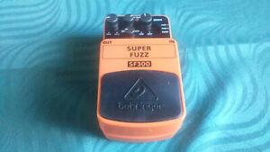 Behringer SF300 Super Fuzz Effect Pedal -->Superb budget fuzz<--