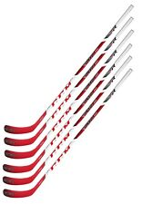 6 New CCM RBZ 240 Grip hockey stick 65 flex Int P40 LH L left hand intermediate