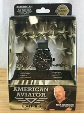 NEW Official Authentic American Aviator Watch TVs Pawn Shops Rick Harrison Mint