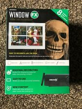 Window FX Holiday Video Decorating  Kit - Projector Brand New