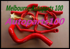Red Silicone Radiator Hose VZ 3.6L V6 2004-2006 For HOLDEN COMMODORE Heater 2005