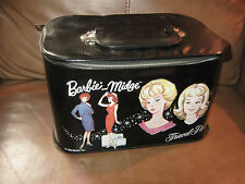 Barbie and Midge Travel Pals Zipper Case 1968 Mattel