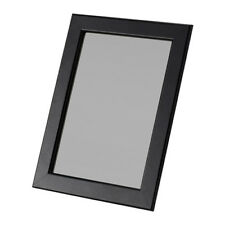 """IKEA FISKBO Wood Wooden Picture Photo Frame 21x30cm 8x12"""" in Black Hang or Stand"""