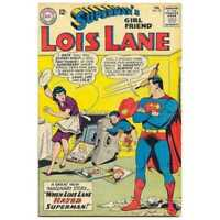 Superman's Girl Friend Lois Lane #39 in Very Good + condition. DC comics [*nv]