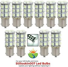 10 x Low voltage landscape light bulb 1141, 1156, 27SMD bulb in Cool White