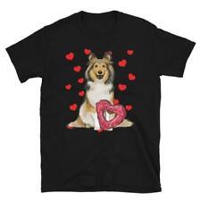 Shetland Sheepdog, Sheltie T-Shirt, Dog Valentines Day, gift for him/her