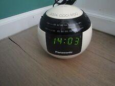 Panasonic digital clock Alarm Radio Vintage Retro Design Space age RC-70
