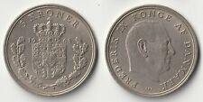 1968 Denmark 5 kroner coin
