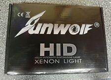55W 5000K Sunwolf HID Xenon Light Kit.