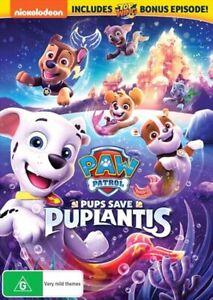 Paw Patrol - Pups Save Puplantis DVD