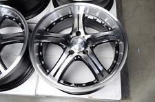 17 5x112 Wheels Fits Mercedes Audi CLK350 S500 E320 E350 Polished 5 Lug Rims