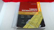 Thinking Mathematically by Robert F. Blitzer (2015, Custom Edition)