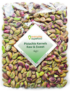 Pistachio Nuts Kernels 1kg Natural Shelled Pistachios Nut Unroasted Unsalted