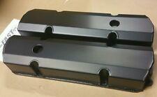 HOLDEN 253 308 Black Fabricated alloy valve rocker covers kingswood torana
