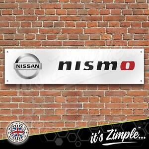 Nissan Nismo Motorsport Banner Garage Workshop Sign PVC Trackside Display