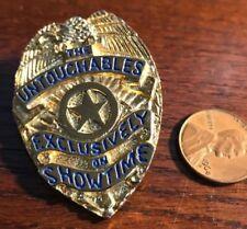 Untouchables Showtime Pin Badge