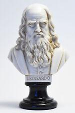 Statue Busto di Leonardo da Vinci - Bust of Leonardo da Vinci (Made in Italy)